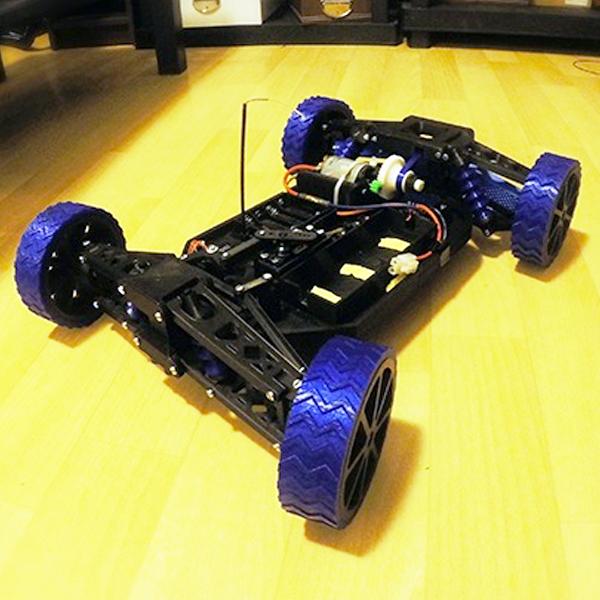 Coche RC gratis para impresora 3D